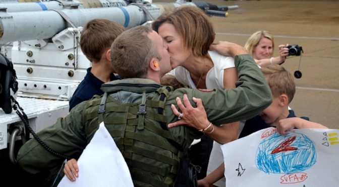 It Takes a Family: How Military Spousal Laws and Policies Impact National Security